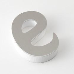 Letra de PVC con frente en Aluminio