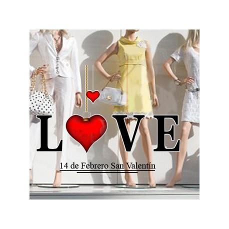 Vinilo San Valentín LOVE