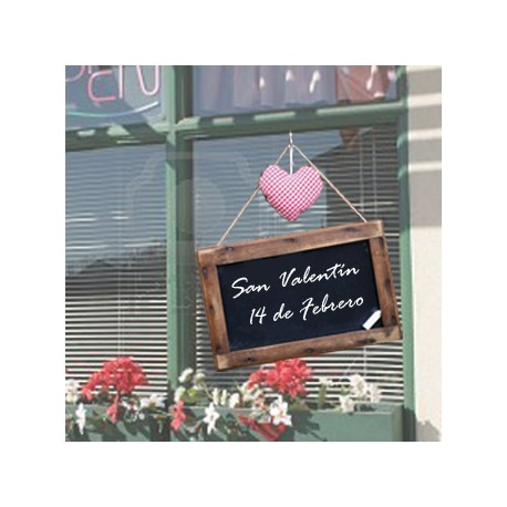 Vinilo Cartel San Valentín