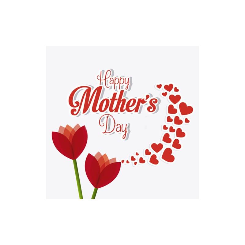 Vinilo Dia De La Madre Para Escaparate O Pared