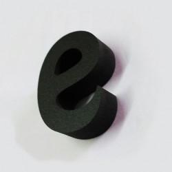 Letras de PVC Negro 10 y 19mm