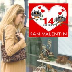 Vinilo San Valentín Corazones